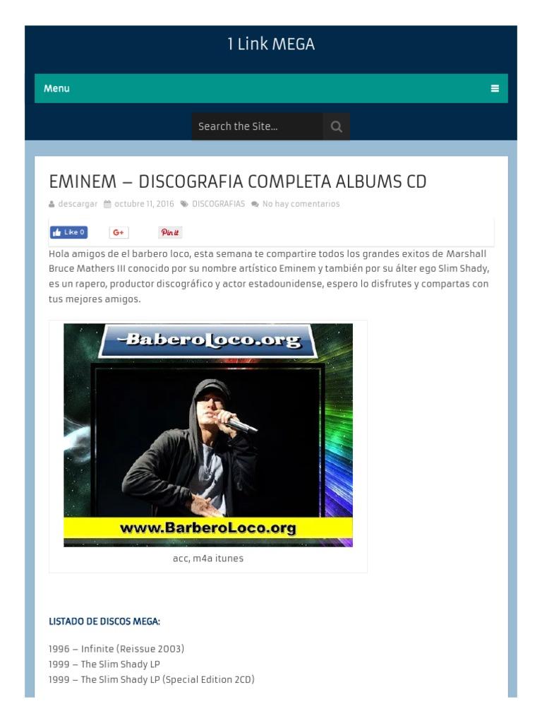 eminem the slim shady lp special edition cd
