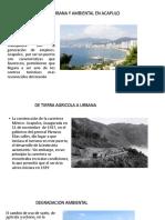 Dregradacion Urbana y Ambiental en Acapulo