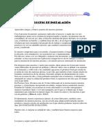 Proceso Instalación Piscinas Cano