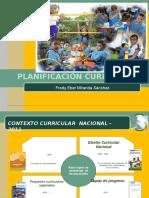 Planificación curricular  - pela