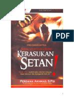 Kerasukan Setan