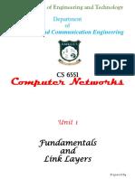 Computer Networks - Unit I