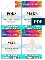 Working Committe