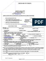 NMI Application Form (NCLEX Scores Transfer)