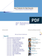IBM Lotus Protector for Mail Security_OpenMicSession