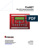 FN LCD S Serial Annunciator