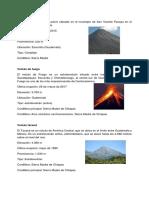 Volcanes de Centroamerica
