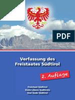 Die Freiheitlichen - Verfassung des Freistaates Südtirol (deutsch)