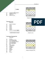 PicoChess 0.9k Reference Card
