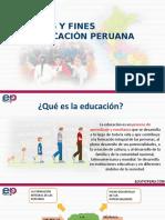 47. Principios y Fines Educación Peruana