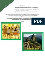 El Imperio Inca Kiara