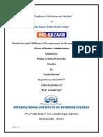 59801652 Big Bazaar Attrition