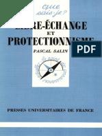 Pascal Salin - Libre-échange et protectionnisme