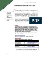 Oracle Database Migration Verifier