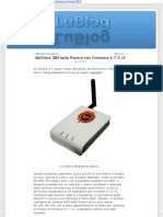 Abilitare SSH sulla Fonera con firmware 0 7 2 r3