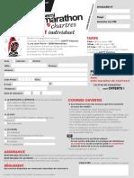 Inscription semi-marathon de Chartres