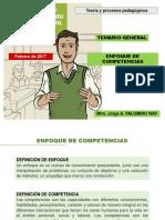Teoría y Procesos Pedagógicos Enfoque de Competencias