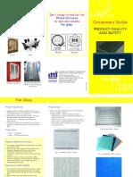 Consumer Guide Flatglass