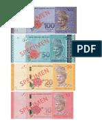 contoh wang