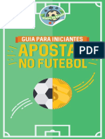 Apostas No Futebol eBook Gratis Para Voce Aprender a Apostar