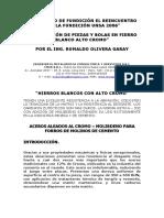 SEMINARIO DE FUNDICIÓN EL REENCUENTRO CON LA FUNDICIÓN UNSA1 2006.doc