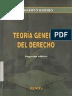 Norberto Bobbio - Teoría General Del Derecho (0, Temis)