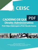 Caderno de Questões Administrativo
