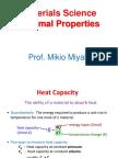 12. Thermal Properties