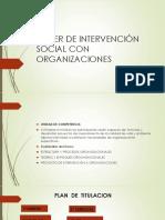Taller Organizaciones Presentacion