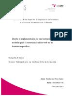 PÉREZ - Diseño e Implementación de Una Herramienta Modular Para La Creación de Sitios Web en Un d...