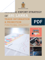 Trade Information & Promotion Strategy - National Export Strategy (2018-2022)