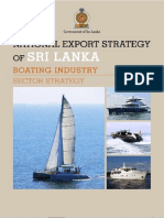 Boating Industry Sector Strategy - National Export Strategy (2018-2022)
