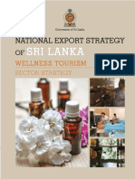 Wellness Tourism Sector Strategy - National Export Strategy (2018-2022)