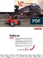 Manitou Diesel Platforms Range-BD (IT)