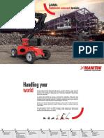 Manitou Diesel Platforms Range-BD (IT)