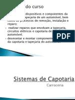 Sistemas de Capotaria