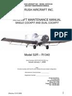 Thrush S2R R-1340 Maintenence  Manual