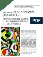 Aisenberg, B. La lectura en la enseñanza de la historia.  Revista Lectura y Vida. Vol. 26 N° 3