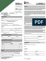 Cerere de Emitere Carduri Business de Debit