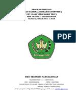 Program Kerja Ujian Simulasi Unbk Cbt 20172018