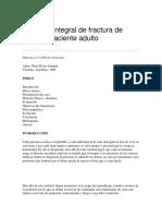 Abordaje Integral de Fractura de Codo en Paciente Adulto