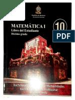 Matemática I - Décimo Grado(1)