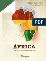 África, Terra, Sociedade e Conflitos