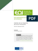 Gestion de Las Industrias de La Eco-Innovacion