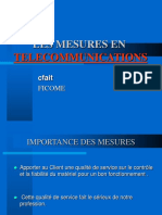 Mesures de Telecommunication