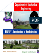 MCE527-Lecture 1 - Introduction to Mechatronics