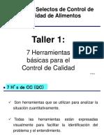 7 Herramientas Basicas de Control de Calidad Taller 1