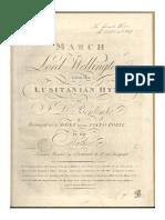 Bomtempo March Wellington Lusitanian