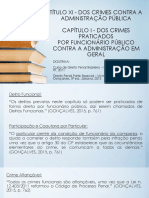 Dos Crimes Contra a Administração 312-327
