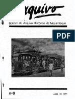 Boletim do Arquivo Histórico de Moçambique Nº9 - Abril de 1991.pdf